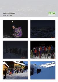 Vollmondskitour